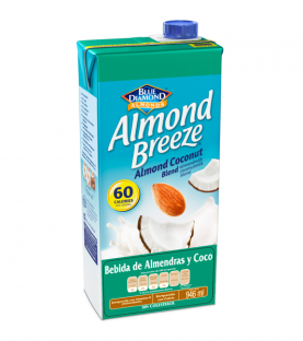 Almond Breeze - Almendra y Coco 946 ml.