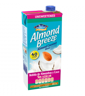 Almond Breeze - Coco original sin azúcar 946 ml.