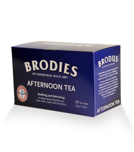 Brodies - Té Afternoon - Caja con 20 sobres