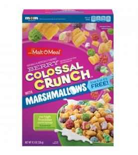 Malt-O-Meal Cereal Colossal Crunch With Marshmallows