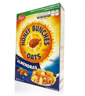 Post - Honey Bunches of Oats - Almendra 411 g.