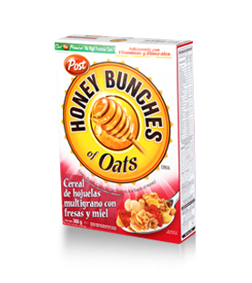 Post - Honey Bunches of Oats - Fresa 368 g.