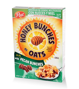 Post - Honey Bunches of Oats - Nuez